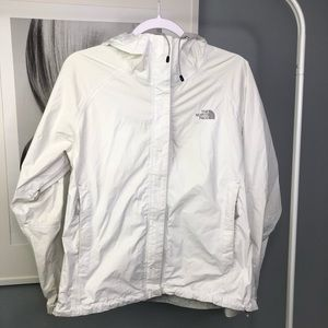 The North Face • Women's White Rain Jacket Wind